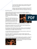Cutting Weight in MMA