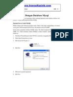 Koneksi Vb Dengan Database Mysql
