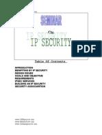 Internet Protocol Ip Security Technical Presentation