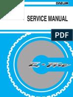 E-FIVE & S-Five Service Manual