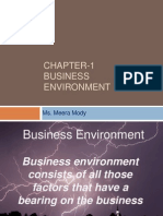 Chapter-1 Introduction to Business Environment