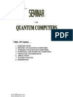 Quantum Computers Technical Presentation