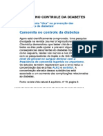 CAMOMILA No Controle Do DIABETES - Medicina Preventiva - Curas Naturais