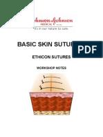 Basic Skin Suturing