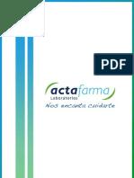 Actafarma Corporate Dossier