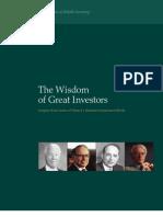 WisdonofGreatInvestors