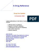Drug Use and Treatment