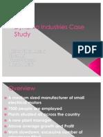 Dynamo Industries Case Study