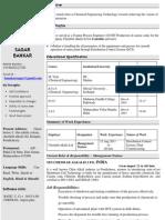 Sagar Resume