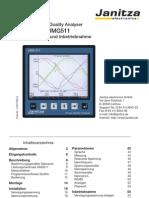UMG511 handleiding Duits