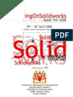 Training on Solidworks - bazele proiectării în Solidworks.