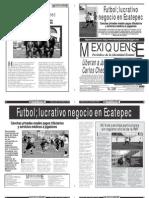 Versión impresa del periódico El mexiquense 6 de marzo 2012