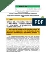 ANEXO II proyecto innovación educativa