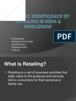 Economic Significance of Retailing in India & Worldwide (1)