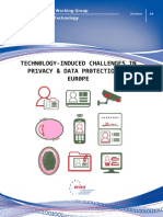 Challenges in privacy & data protection in Europe