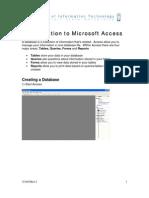 Access Intro