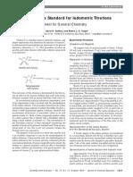 Ascorbic Acid Iodometric Titration