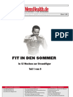 Mens Health Fit in Den Sommer Teil 1 German eBook-Hs