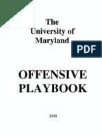 2000 University of Maryland Playbook-Offense