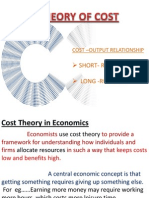 Theory of Cost Final