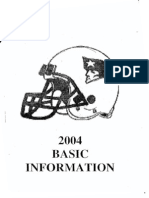 2004 Patriots Offense
