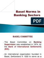 Basel Norms in Banking Sectors