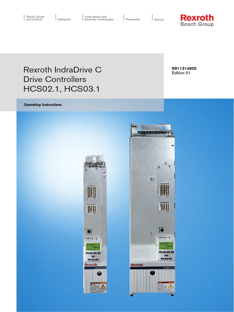 rexroth operating instructions hcs02 1 03 1 31490501 computer data rh scribd com Indramat Cable Indramat Fault Codes