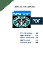 Tata Starbucks Joint Venture - Final
