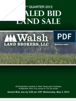 2nd Quarter 2012 Sealed Bid Catalog