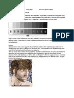 Newsprint Portrait