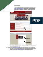 Petunjuk Pelaksanaan Tutorial Online Bagi Para Tutor