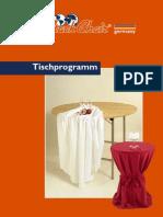 SC Tischprogramm