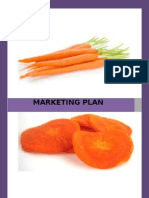 Marketing Plan On Carrot Chips
