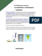 homogenia y heterogenia