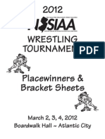 2012 NJSIAA State Wrestling Tournament Final results