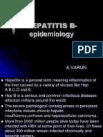 HEPATITIS B Epidemiology