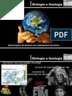 intervenção do homem nos ecossistemas
