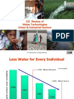 CII Water Technlogy PPT