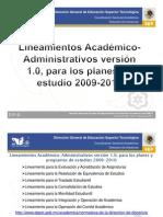Presentacion Docencia Lineamientos SLP CAPITAL