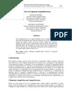 Factors of regional competitiveness (Eng) / Factores de la competitividad regional (Ing) / Eskualdeen lehiakortasunaren faktoreak (Ing)