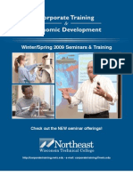 Winter Spring 2009 Seminar Catalog