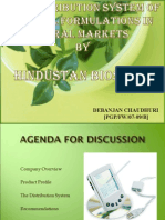 distribution system of herbal formulations in rural markets - india
