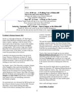May Newsletter 2011