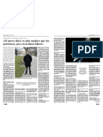 """Entrevista a Iker Piedrafita de """"Dikers"""" que nos presenta el nuevo disco """"Casi nunca llueve""""."""
