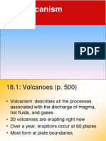 Chapter 18 Volcanism