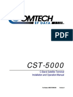 ComTech-EF Data CST-5000 Installation Manual
