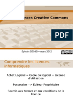 Les Licences + Les licences Creative Commons