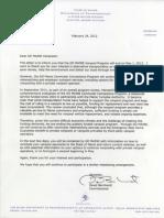 GoMaine Cancellation Letter