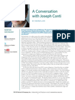Joseph Conti Interview