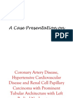 A Case Presentation On